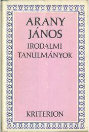 Irodalmi tanulmányok - Arany János - Régikönyvek