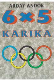 6x5 karika - Arday Andor - Régikönyvek