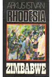Rhodésia, Zimbabwe - Árkus István - Régikönyvek