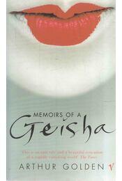 Memoirs of a Geisha - Arthur Golden - Régikönyvek