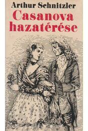 Casanova hazatérése - Arthur Schnitzler - Régikönyvek