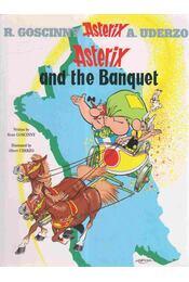 Asterix and the Banquet - RENÉ GOSCINNY, ALBERT UDERZO - Régikönyvek