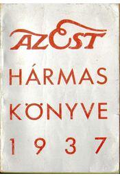 Az Est hármas könyve 1937 - Régikönyvek
