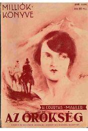 Az örökség - H.Courths-Mahler - Régikönyvek
