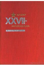 Az SZKP XXVII. kongresszusa - Régikönyvek