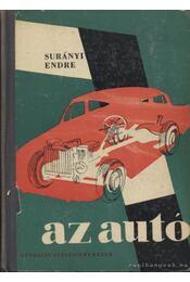 Az autó - Surányi Endre - Régikönyvek