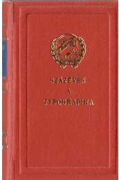 Száz éves a typographia (mini) - Régikönyvek