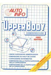 Upper Body Dimensions 1992 Edition - Régikönyvek