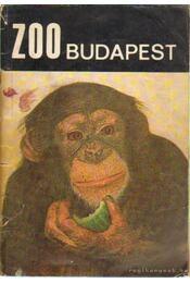 Zoo Budapest - A Fővárosi Állat- és Növénykert útmutatója - Szederjei Ákos Dr. - Régikönyvek