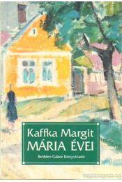 Mária évei - Régikönyvek