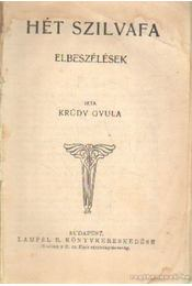 Hét szilvafa - Krúdy Gyula - Régikönyvek
