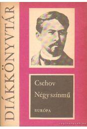 Négy színmű - Anton Pavlovics Csehov - Régikönyvek