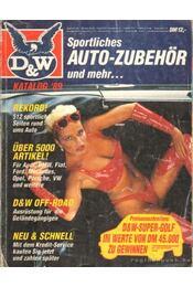 D&W Katalog '89 - Régikönyvek