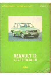 Renault 12 L-TL-TS-TR-LN-TN - Régikönyvek