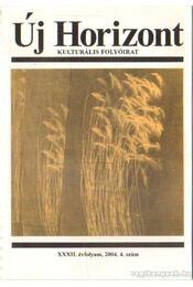 Új horizont 2004./4. szám - Raffai István - Régikönyvek