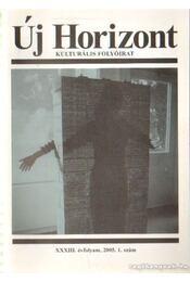 Új horizont 2005./1. - Raffai István - Régikönyvek