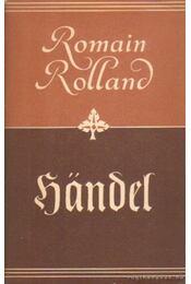 Händel (német nyelvű) - Romain Rolland - Régikönyvek