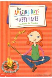 The amazing days of Abby Hayes - Mazer, Anne - Régikönyvek