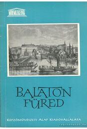Balatonfüred - Szalai Imre - Régikönyvek