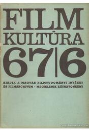 Filmkultúra 67/6 - Sallay Gergely (szerk.) - Régikönyvek