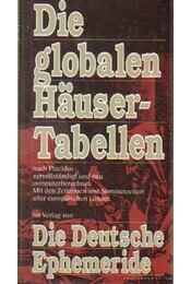 Die Globalen Häusertabellen - Régikönyvek