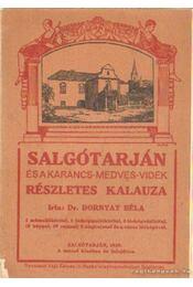 Salgótarján és a Karancs-Medves-Vidék részletes kalauza - Dr. Dornyay Béla - Régikönyvek