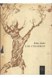 Fák, viharban - Rákos Sándor - Régikönyvek