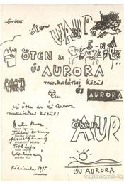 Öten az Új Aurora munkatársai közül - Tóth Lajos, Fábián Zoltán, Bata Imre, Filadelfi Mihály, Lipták Pál - Régikönyvek