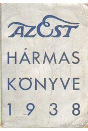Az Est hármaskönyve 1938 - Régikönyvek