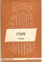 3 plays - The playboy of the western world; The Tinker's wedding; The shadow of the glen - SYNGE, J.M. - Régikönyvek
