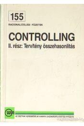 Controlling II. rész: Terv/tény összehasonlítás - Daniel, Hermann, Kreiser, Herbert - Régikönyvek
