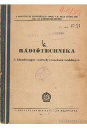 Rádiótechnika - Régikönyvek