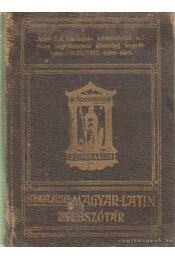 Latin-magyar zsebszótár - Schmidt József - Régikönyvek