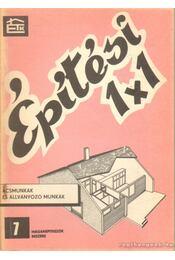 Ácsmunkák és állványozó munkák - Kovács Nándor - Régikönyvek