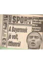 Nemzeti Sport 1994. április V. évfolyam (hiányos - Borbély Pál - Régikönyvek