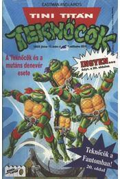 Tini Titán Teknőcök 1992/5. június 11. szám - Clarrain, Dean - Régikönyvek