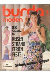 Burda Moden 1987./6. Juni (német nyelvű) - Régikönyvek