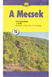 A Mecsek turistatérképe (1:40000) - Régikönyvek