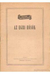 Az egri hősök - Régikönyvek