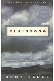 Plainsong - Haruf, Kent - Régikönyvek