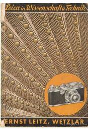 Leica in Wissenschaft und Technik - Régikönyvek