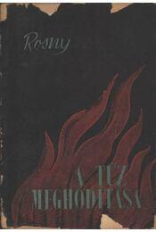 A tűz meghódítása - Rosny, J. H. - Régikönyvek