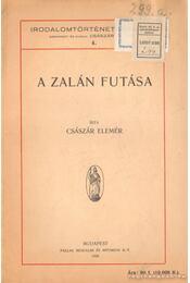 A Zalán futása - Császár Elemér - Régikönyvek