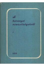 A baranyai nemzetiségekről - Hoóz István - Régikönyvek