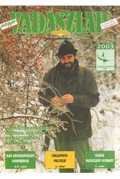 Magyar Vadászlap 2003/1 - Csekó Sándor - Régikönyvek