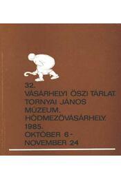32. vásárhelyi őszi tárlat - Régikönyvek