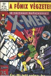 X-Men 1995/4 július 25. szám - Claremont, Chris, Byrne, John, Austin, Terry - Régikönyvek