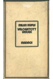 Válogatott versek - Milan Rüfus - Régikönyvek