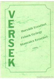 Versek 1995. (Horváth Erzsébet, Feinek György, Stancsics Erzsébet) - Régikönyvek