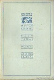 Öregek - Falu Tamás - Régikönyvek